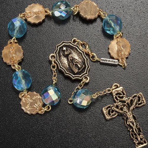 Rosario Ghirelli decina Madonna di Fatima 10mm 2