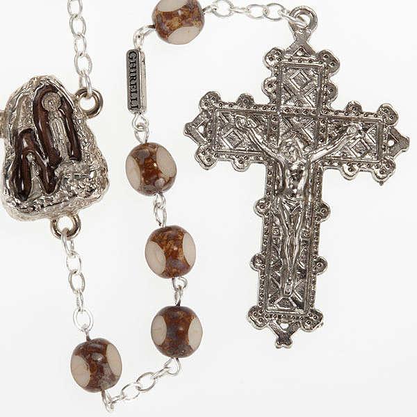 Ghirelli rosary, stone-like 7mm 4