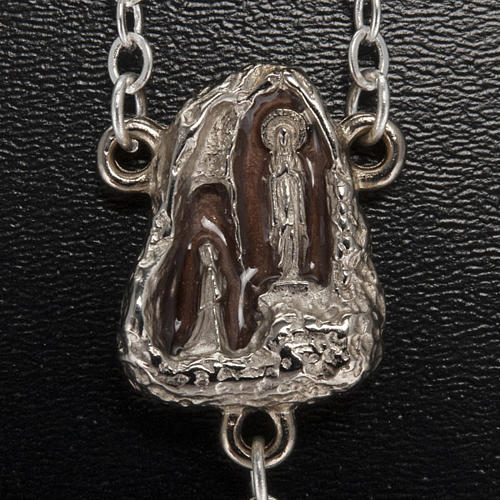 Ghirelli rosary, stone-like 7mm 3