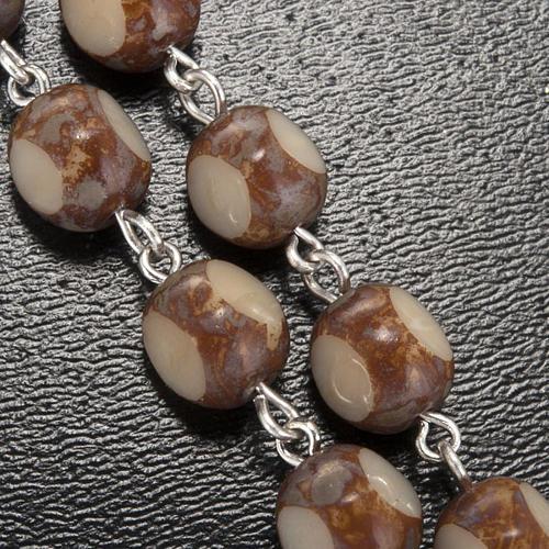 Ghirelli rosary, stone-like 7mm 5