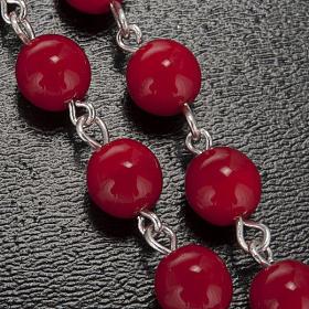 Rosario Ghirelli Lourdes rosso 7 mm s5