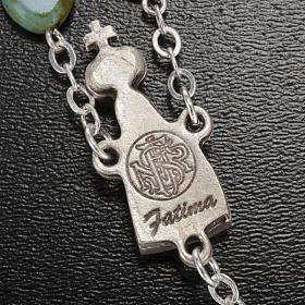 Ghirelli rosary, Fatima, heart 6x6mm s6