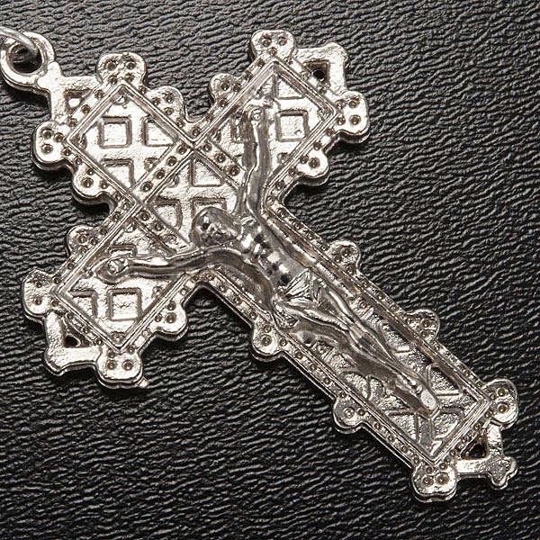 Chapelet Ghirelli Lourdes métallisé 7 mm 4