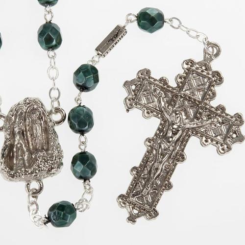 Chapelet Ghirelli Lourdes métallisé 7 mm 1