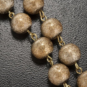 Ghirelli rosary, Fatima, golden 7mm s5