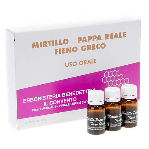 Energy drink- Benedictine Finalpia Herbalist 1