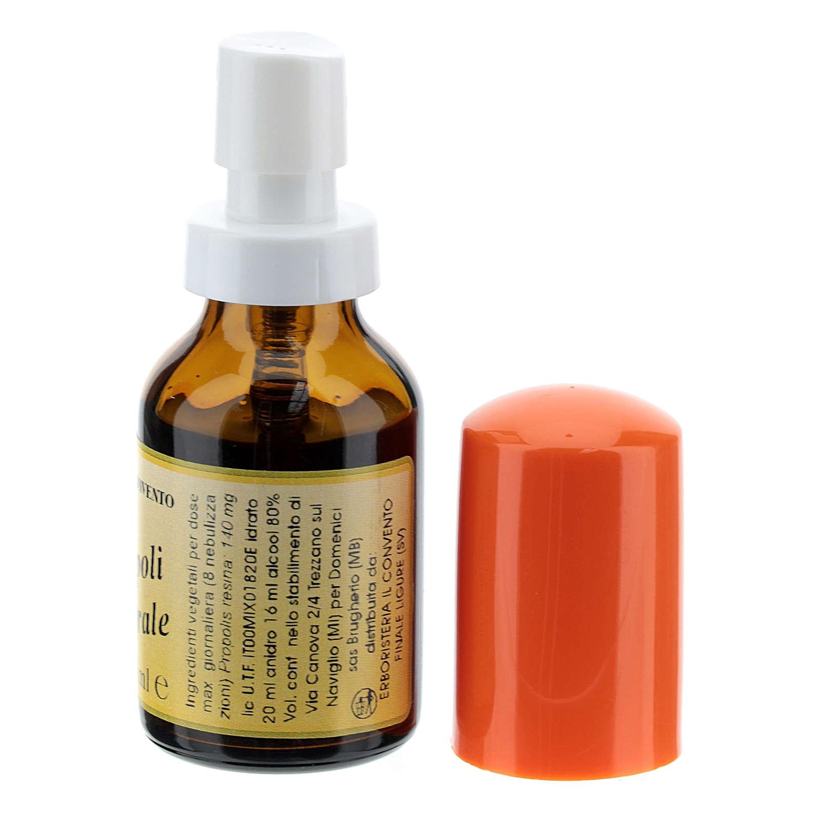 Própolis vaporizador oral Ervanária beneditina 3