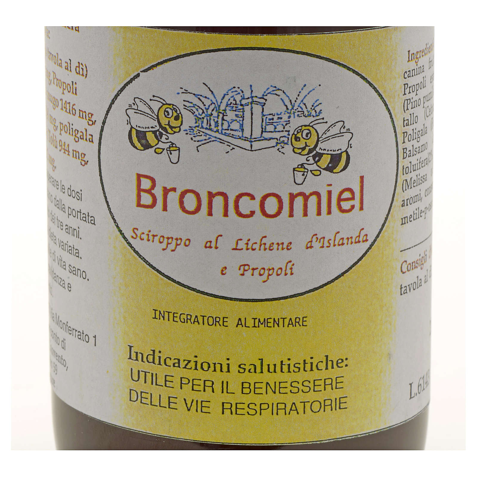 Sciroppo Tosse Broncomiel Erboristeria benedettina Finalpia 3