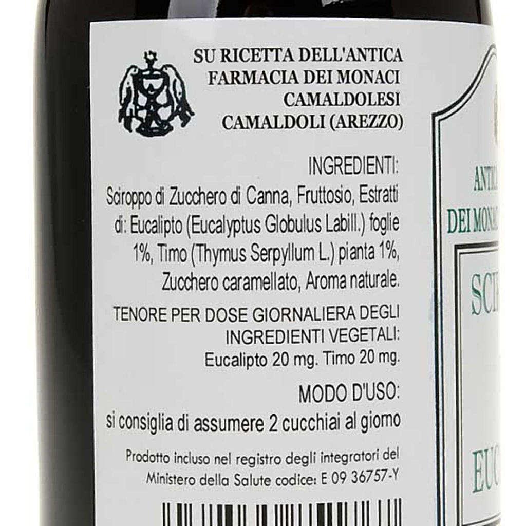 Camaldoli Eucalyptus syrup 200ml 3
