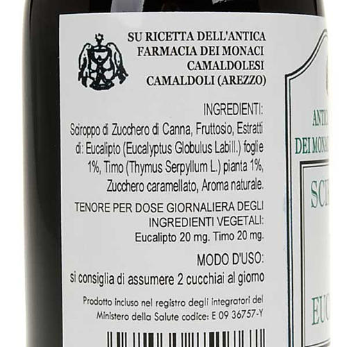 Camaldoli Eucalyptus syrup 200ml 2