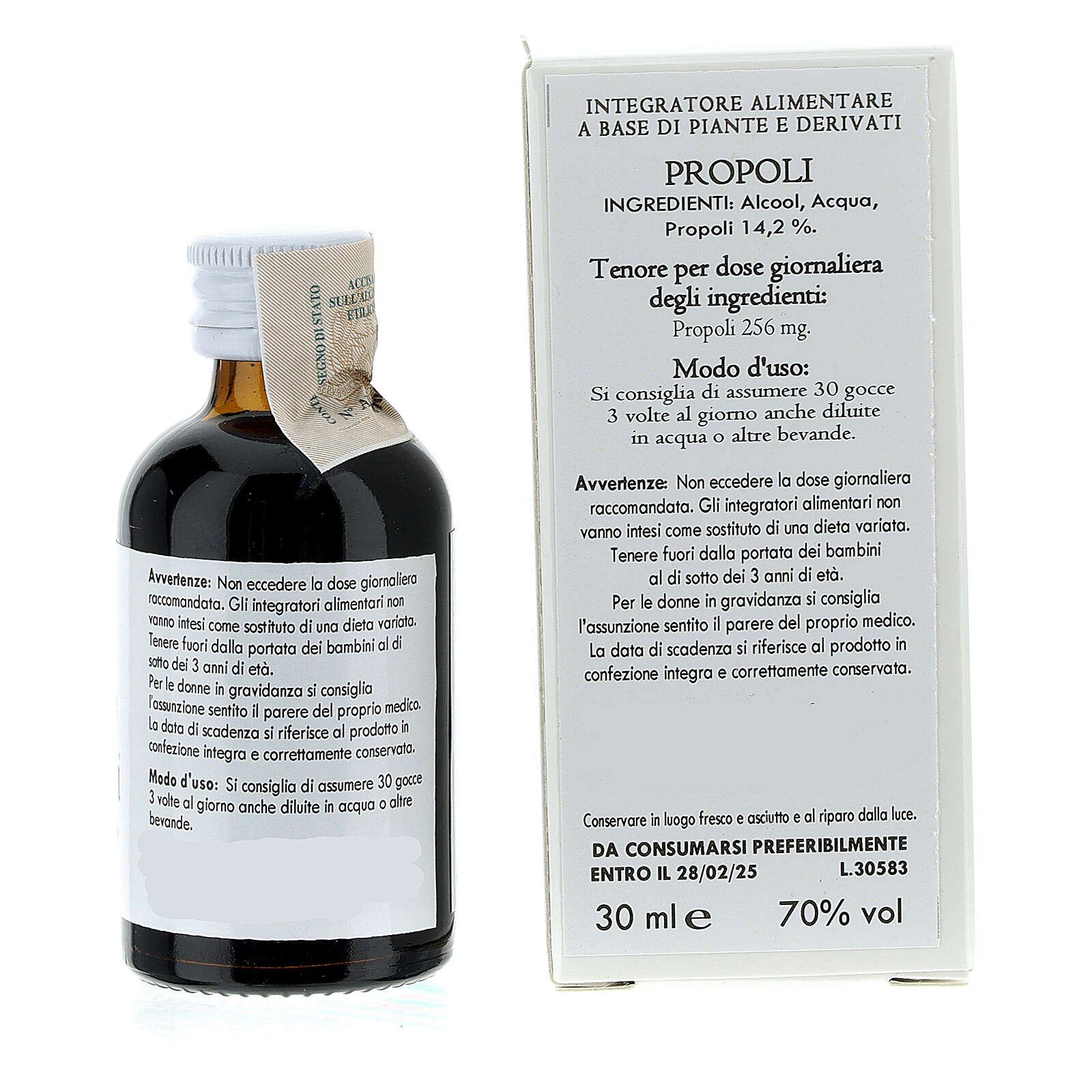 Propoli soluzione alcolica 30 ml 3