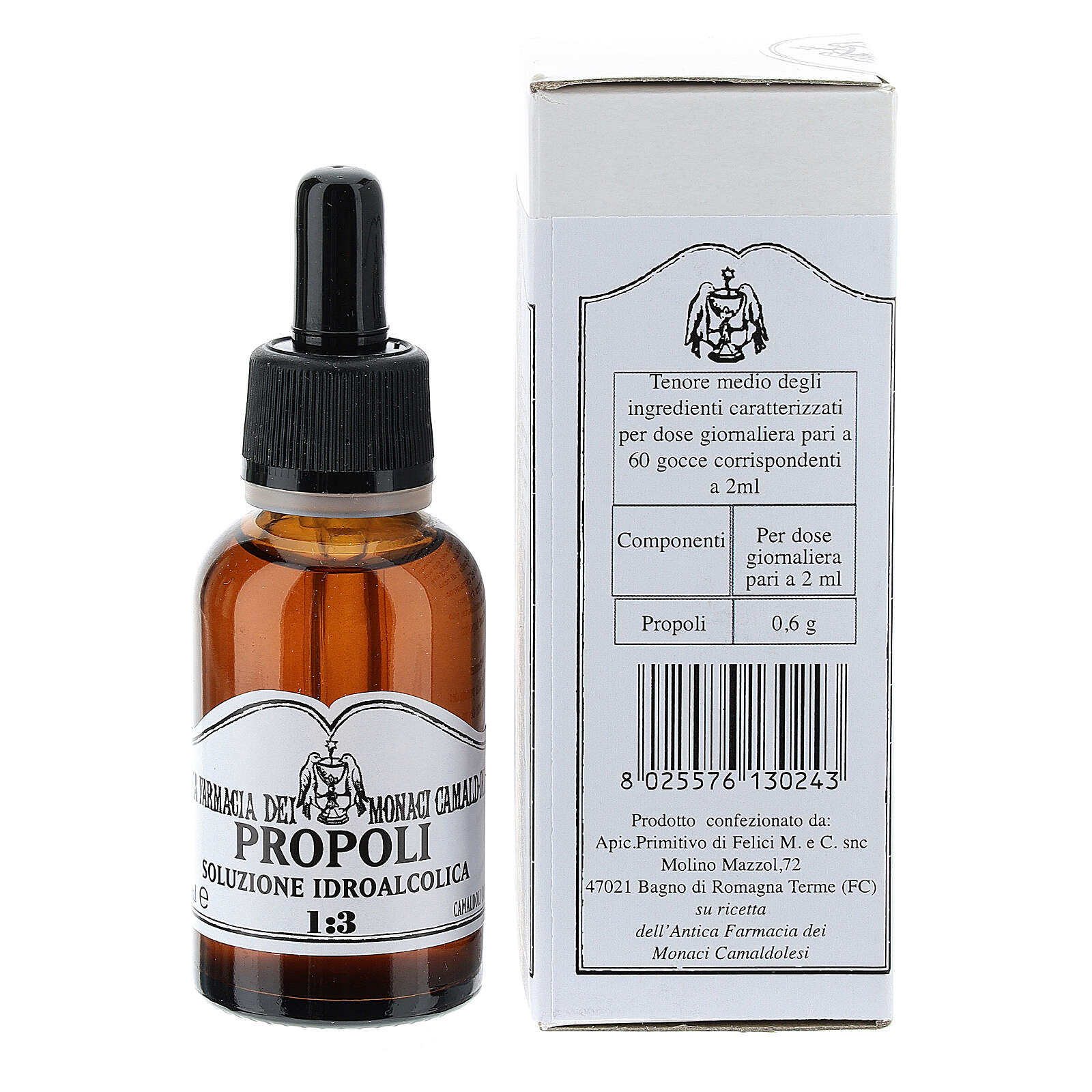 Propolis wodny roztwór alkoholu 30 ml 3