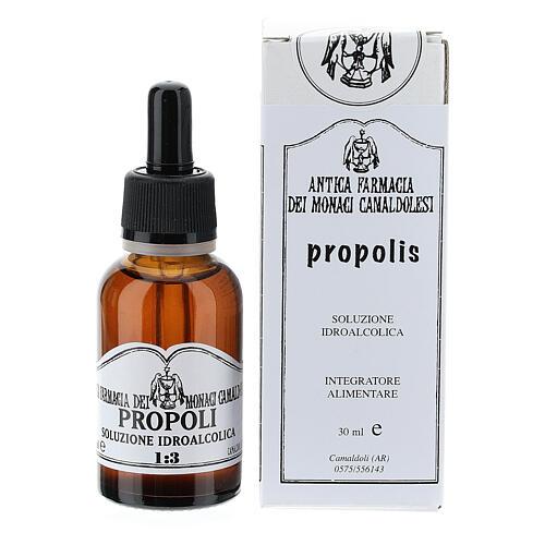 Propolis wodny roztwór alkoholu 30 ml 1