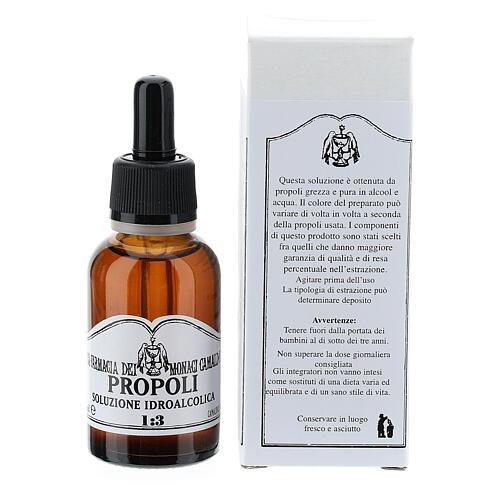 Propolis wodny roztwór alkoholu 30 ml 4