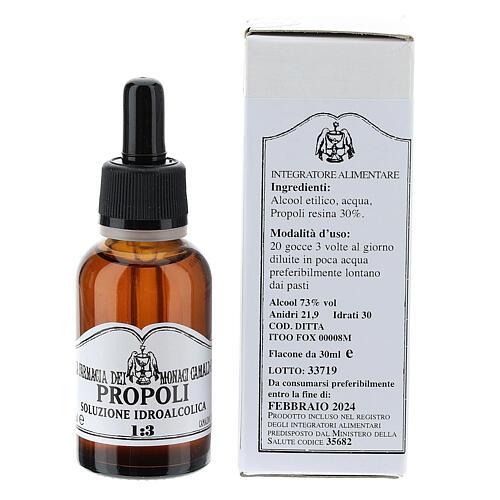 Camaldoli Propolis alcoholic solution 30ml 5