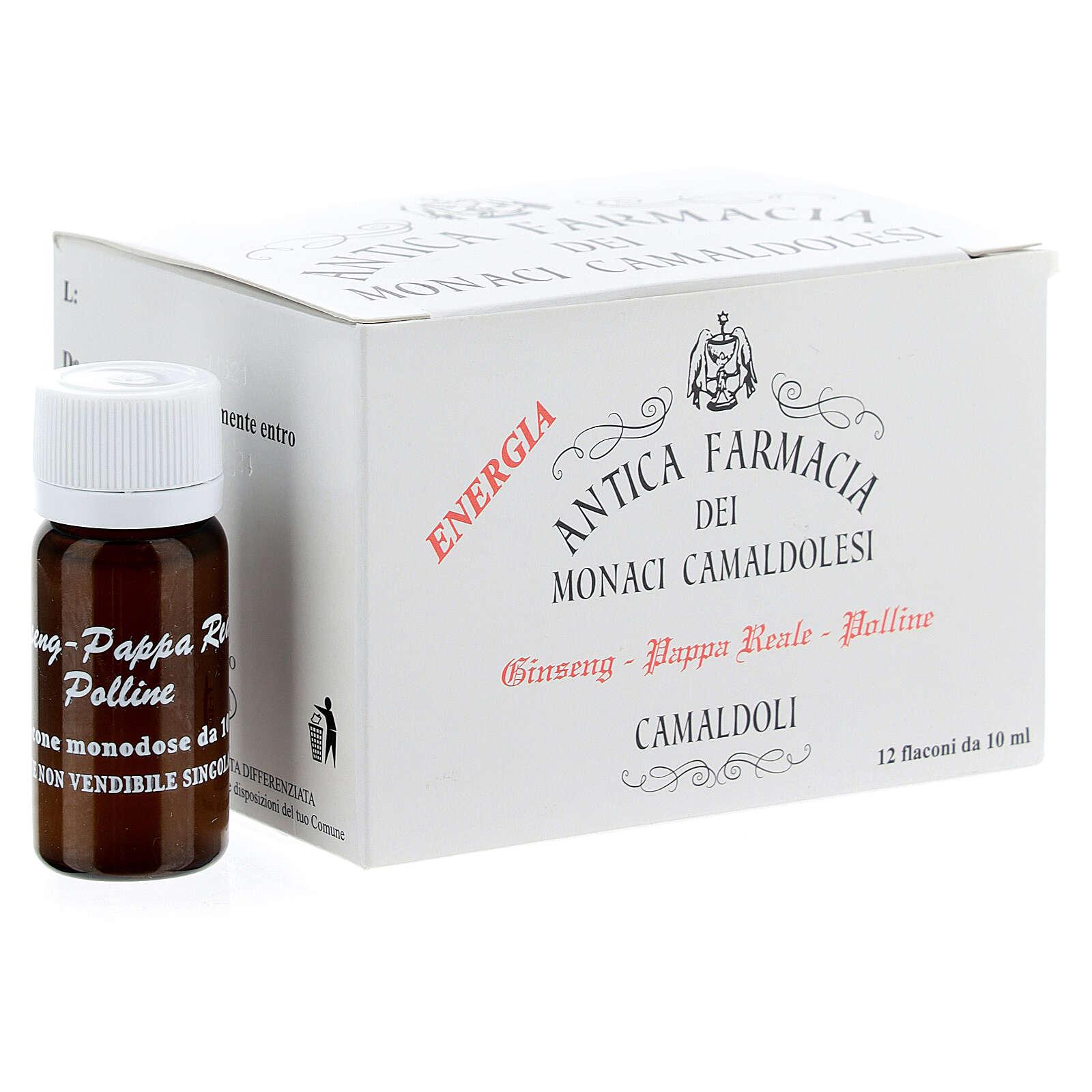 Integrador Frascos miel jalea real ginseng Camaldoli 3