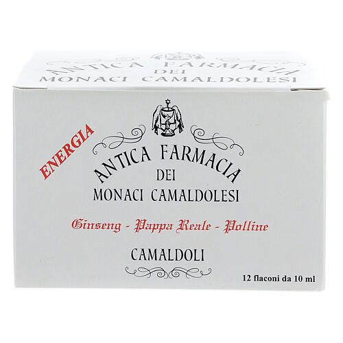 Integrador Frascos miel jalea real ginseng Camaldoli 1