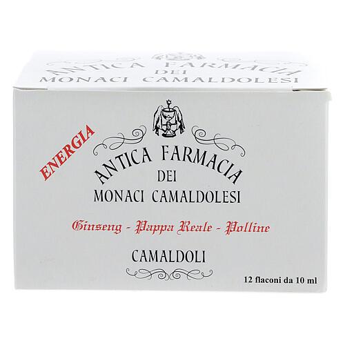 Integratore Fiale miele pappa reale ginseng Camaldoli 1
