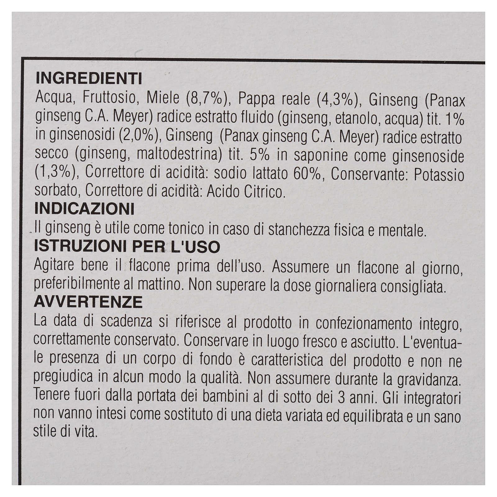 Suplemento alimentar Ampolas mel geleia real ginseng Camaldoli 3