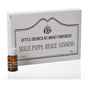 Suplemento alimentar Ampolas mel geleia real ginseng Camaldoli s1