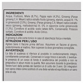 Suplemento alimentar Ampolas mel geleia real ginseng Camaldoli s3
