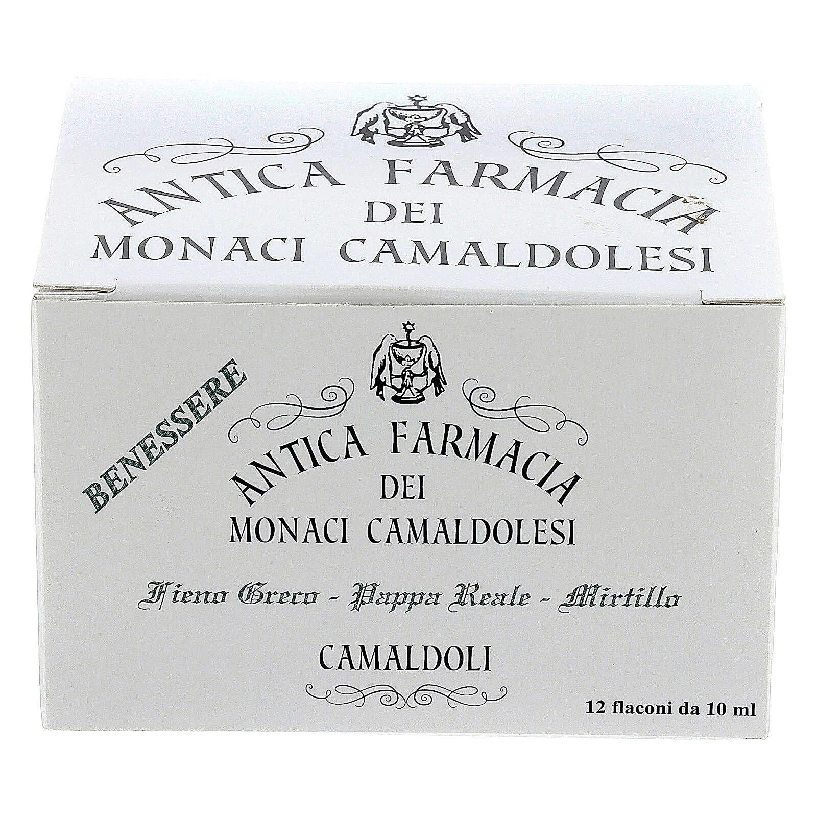 Reinvigorating drink blueberry, royal jelly, fenugreek - Camaldo 3