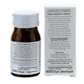 Complément alimentaire Cassia Composta gélules 50 pcs Camaldoli s5
