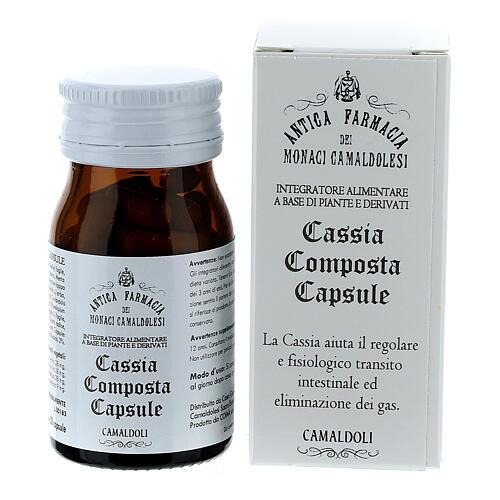 Complément alimentaire Cassia Composta gélules 50 pcs Camaldoli 1
