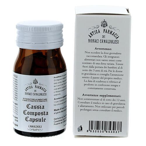 Complément alimentaire Cassia Composta gélules 50 pcs Camaldoli 4