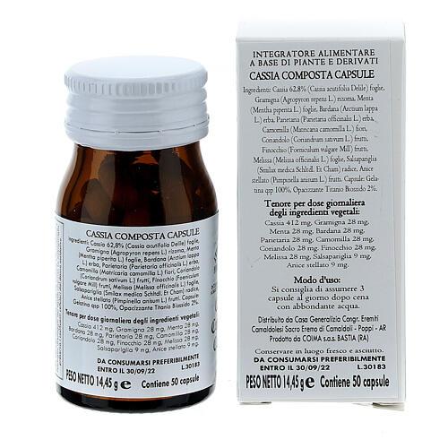 Complément alimentaire Cassia Composta gélules 50 pcs Camaldoli 5