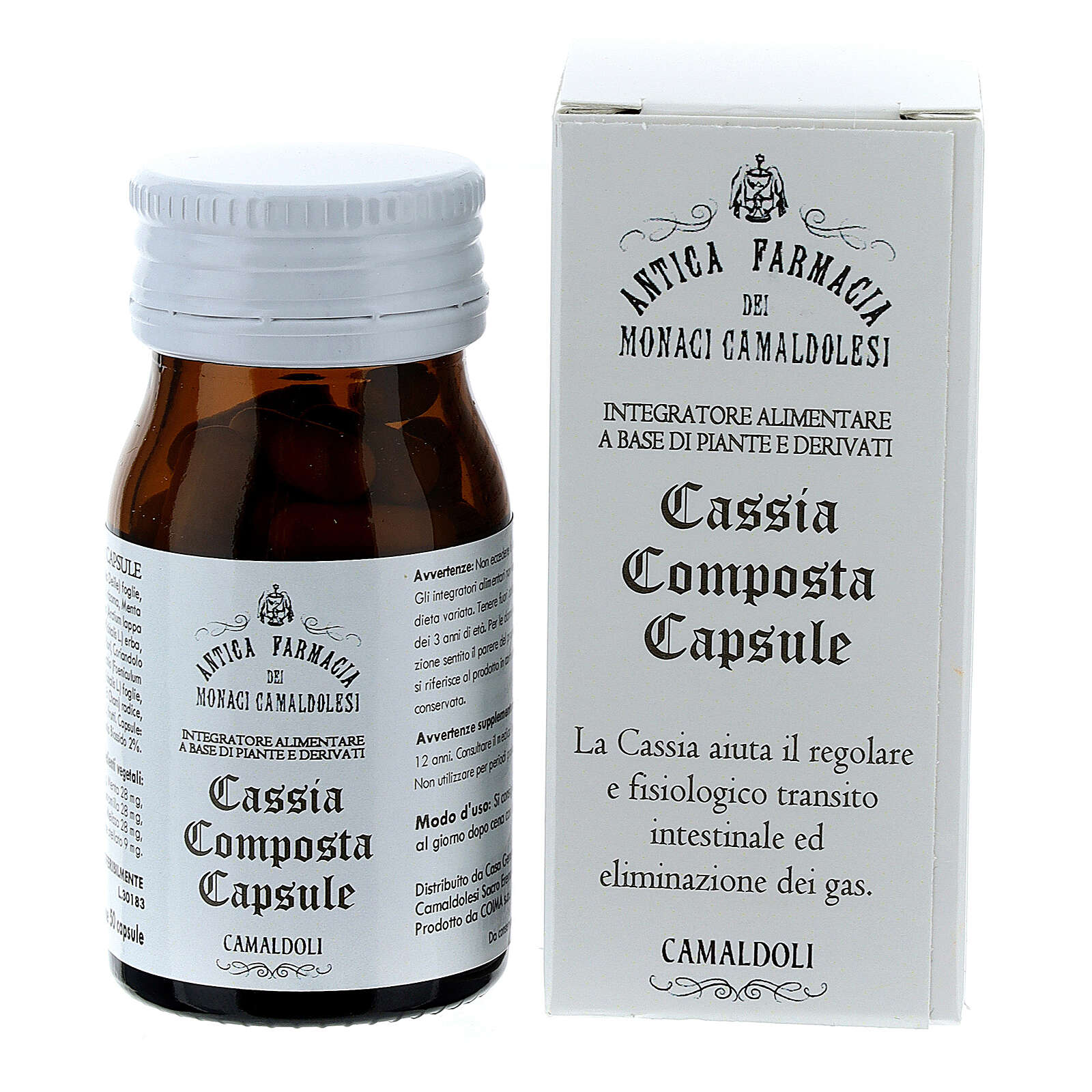 Integratore Cassia Composta capsule 50 pz Camaldoli 3
