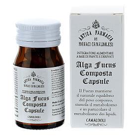 Complément alimentaire Algue Fucus Composta gélules 50 pcs Camaldoli s1