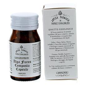 Complément alimentaire Algue Fucus Composta gélules 50 pcs Camaldoli s3