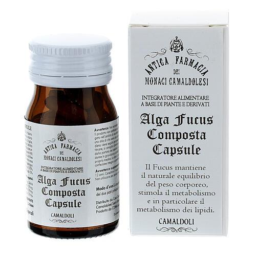 Complément alimentaire Algue Fucus Composta gélules 50 pcs Camaldoli 1