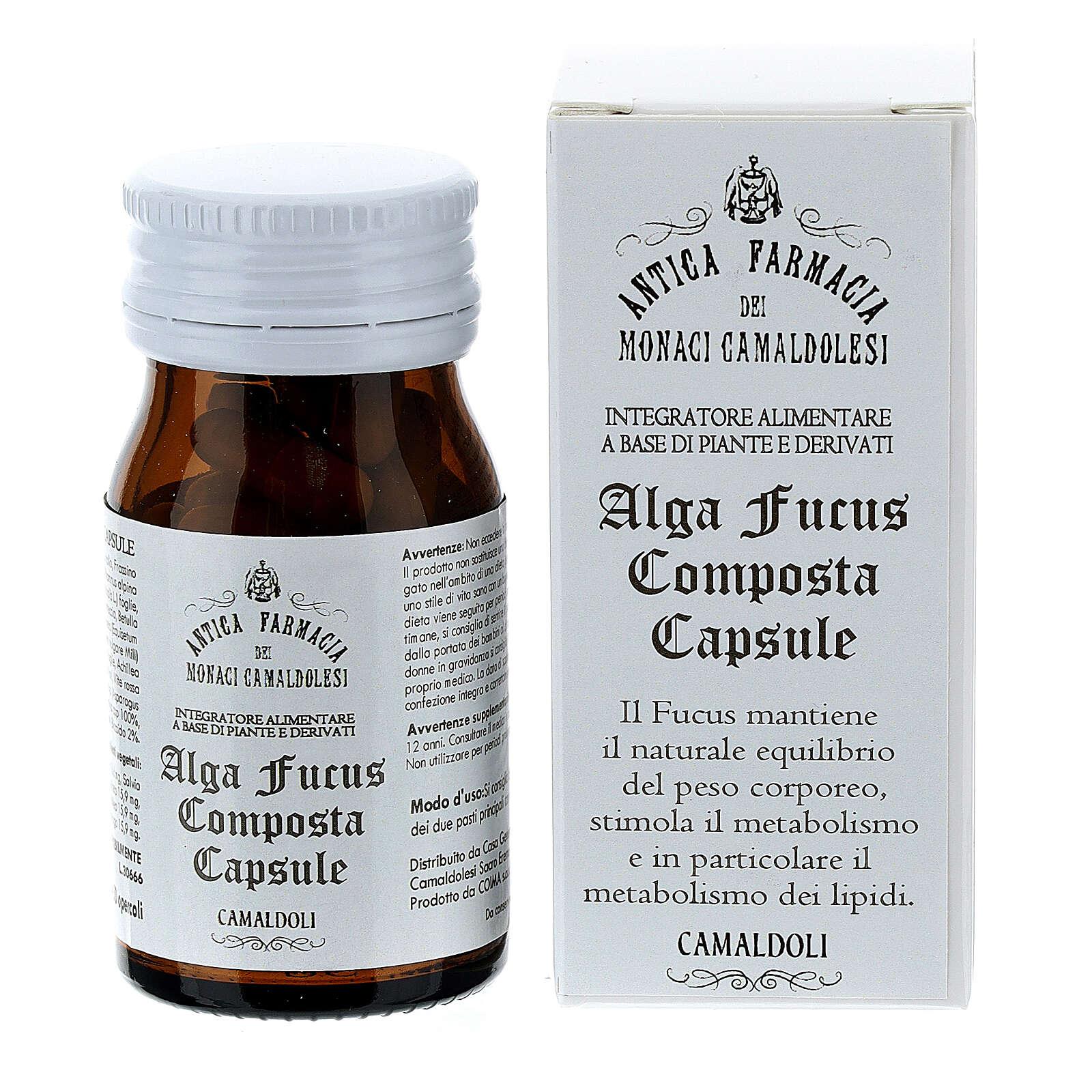 Integratore Alga Fucus Composta capsule 50 pz Camaldoli 3
