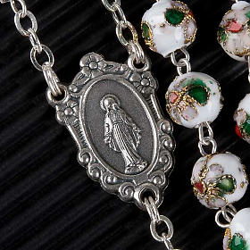 Cloisonné rosary with round 8mm beads s2