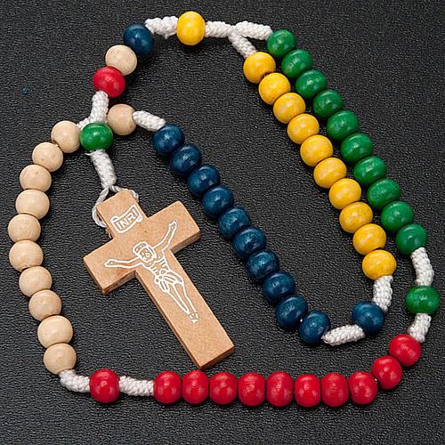 El ezo del rosario misionero tiene en cuenta los cinco continentes