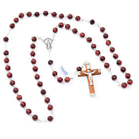 Round bead coconut rosary s4