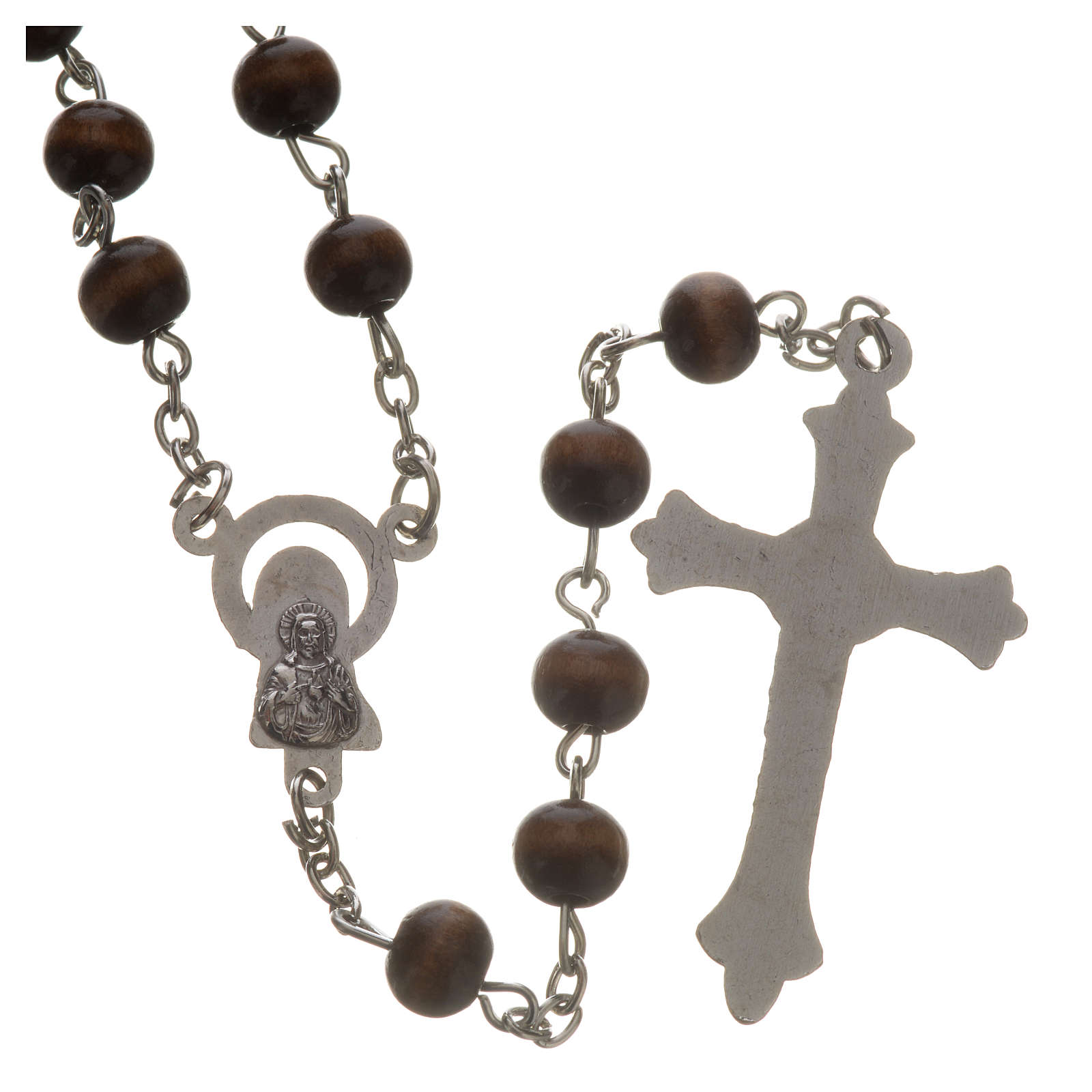 Wood rosary with 7mm beads 4