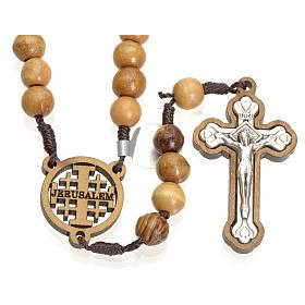 Rosario olivo Terrasanta croce e crociera Jerusalem s1