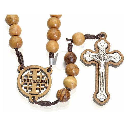Rosario olivo Terrasanta croce e crociera Jerusalem 1