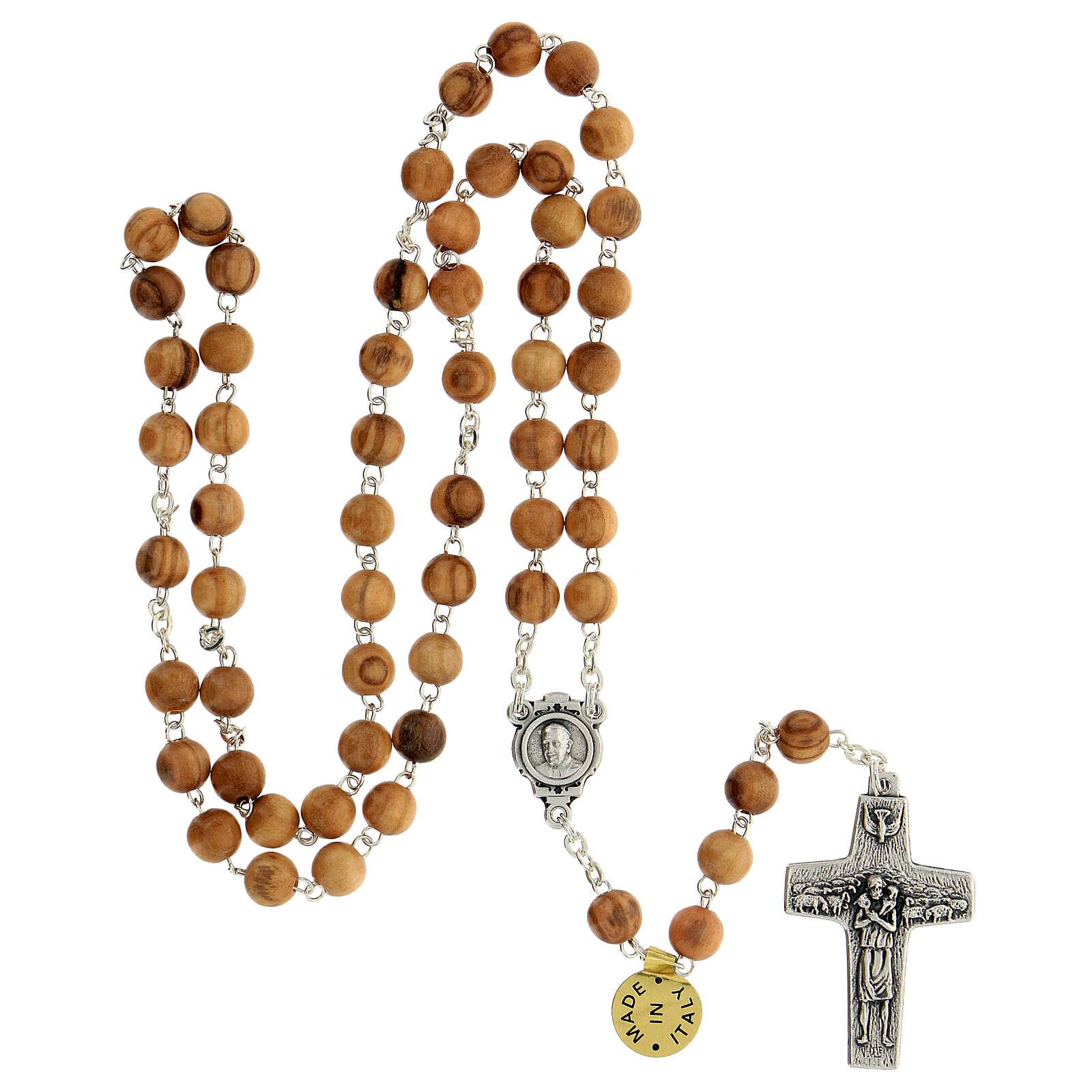 Rosario ulivo Papa Francesco 4