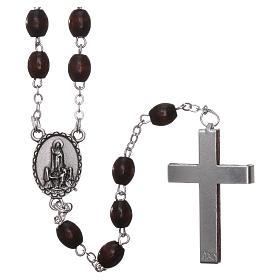Fatima rosary in wood 4mm s2