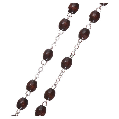 Rosary rosewood 4 mm beads 3