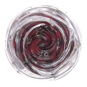 Chapelet en bois pétale de rose 6 mm s5