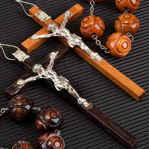 Wall rosary withy inalyed round beads 3