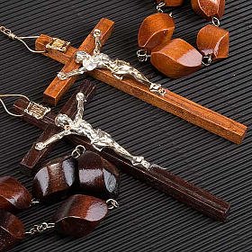Carved bead bedboard rosary s4