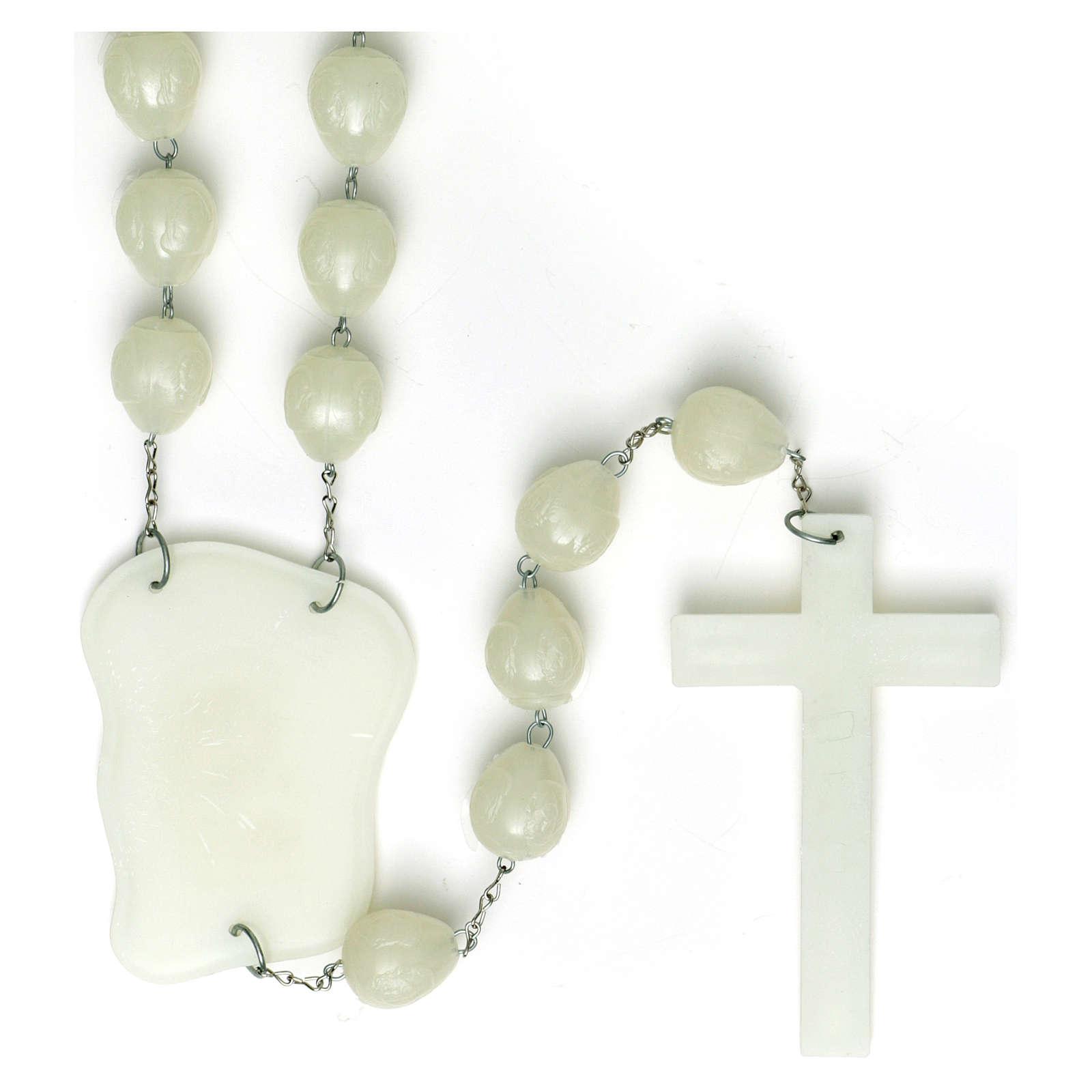 Luminous bedboard rosary 4