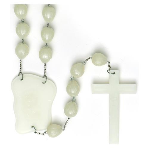 Luminous bedboard rosary 2