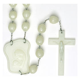 Luminous large rosary 25mm beads s1